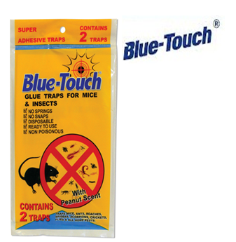 Blue Touch Mouse Strap * Regular Size * 96 ct