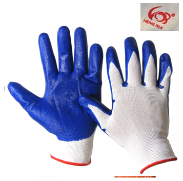Working Gloves Heng Lui High Quality Blue * 10 pairs