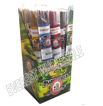 Blunteffects Incense Stick Jumbo * Assorted Fragrances * 24 x 30 ct