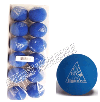 Bounce Blue Color Soft Playing Balls * 12 pcs