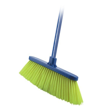 Broom With Handle * Short Brush * 12 pcs