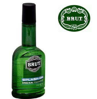 Brut Aftershave Lotion * Splash On 3.5 fl oz * 6 pcs