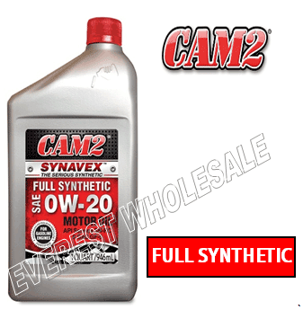 Cam2 Synthetic Motor Oil 1 Qt * 0W-20 * 6 pcs
