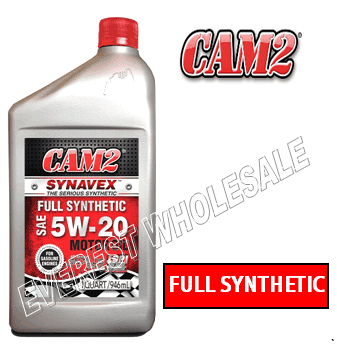 Cam2 Synthetic Motor Oil 1 Qt * 5W-20 * 6 pcs