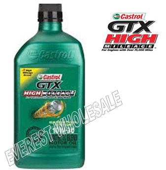 Castrol High Milage Motor Oil 1 Qt * 10W-30 * 6 pcs