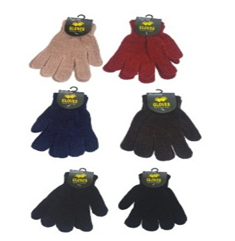 Chenella Magic Winter Gloves * Assorted Colors * 12 pcs