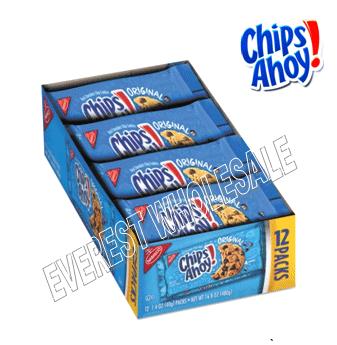 Chips Ahoy Cookies 1.4 oz * 12 pks
