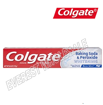 Colgate Tooth Paste 2.5 oz * Baking Soda * 6 pcs