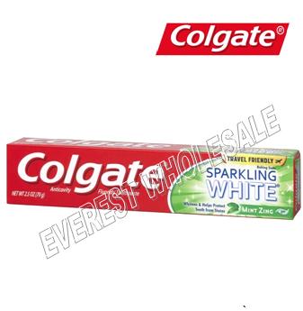 Colgate Tooth Paste 2.5 oz * Sparkling White * 6 pcs