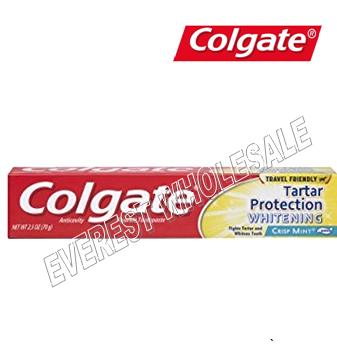 Colgate Tooth Paste 2.5 oz * Tartar Protection Whitening * 6 pcs