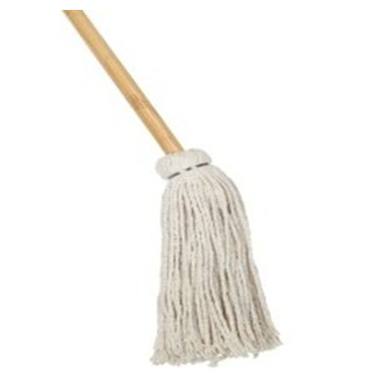 Cotton Floor Cleaning Mop With Handle #24 * 12 pcs