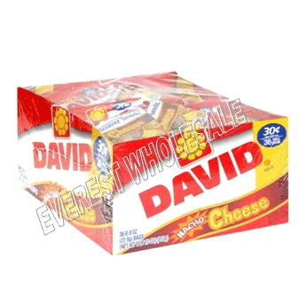 David Sunflower Seeds 30 Cents 0.9 Oz * Cheese * 36 pcs