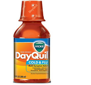 Dayquil Liquid Cold & Flu 8 fl oz / Box * 6 Boxes