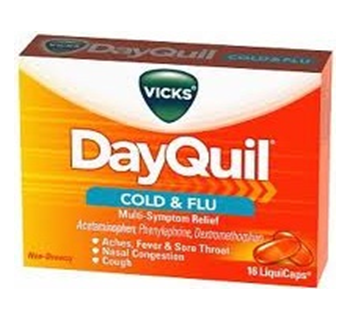 Dayquil Liqui Caps 16 Caps / Box * 6 Boxes