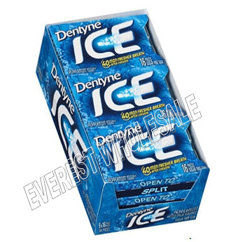 Dentyne Ice * Peppermint * 9 pks / Box