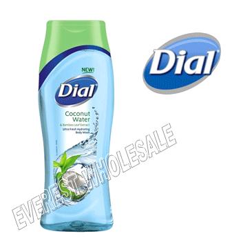 Dial Body Wash 21 fl oz * Coconut Water * 6 pcs