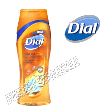 Dial Body Wash 21 fl oz * Miracle Oil * 6 pcs