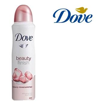 Dove Body Spray For Women 150 Ml Beauty Finish 6 Pcs Everest
