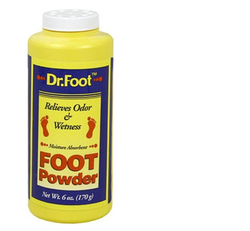 Dr Foot Powder For Foot 6 oz * 12 pcs
