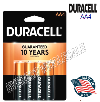 Duracell Battery AA 4 * 14 pcs / Box