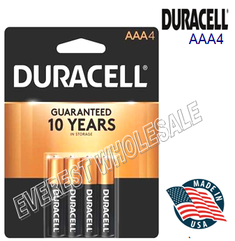 Duracell Battery AAA 4 * 18 pcs / Box