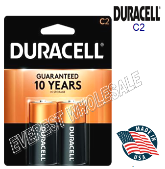 Duracell Battery C 2 * 12 pcs / Box