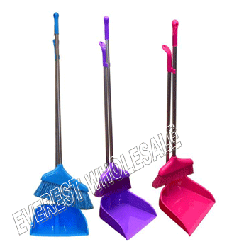 Dust Pan With Broom Set * 6 pcs
