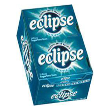 Eclipse Gum * Peppermint * 12 pks / Box