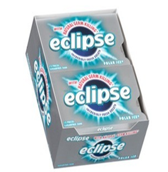 Eclipse Gum * Polar Ice * 12 pks / Box