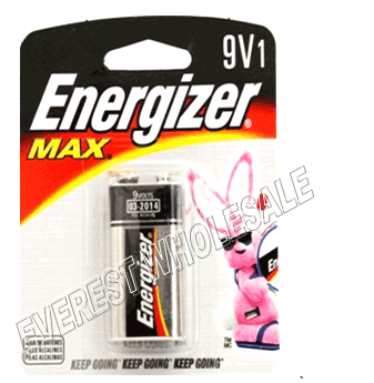 Energizer Battery * 9V * 12 PCS