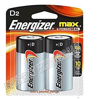 Energizer Battery Max * D2 * 12 Pcs