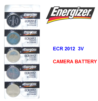 Energizer Camera Battery ECR 2012 3 V * 5 pcs / pack