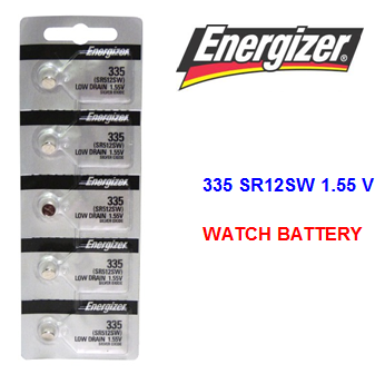 Energizer Watch Battery 335 SR 512 SW 1.55 V * 5 pcs / pack