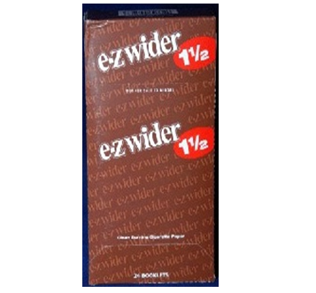 Ez Wider Cigarette Paper 1 1/2 * 24 pcs / Box