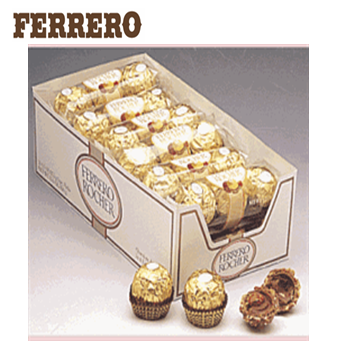 Ferrero Roche Hazelnut Chocolates 3`s * 12 pcs