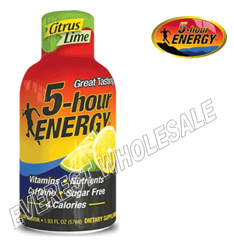 Five Hour Energy Drink * Citrus Lime * 12 pcs