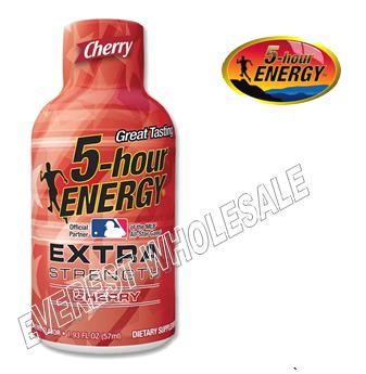 Five Hour Energy Drink Extra Strength * Cherry * 12 pcs