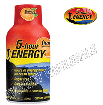Five Hour Energy Drink * Orange * 12 pcs