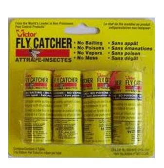 Fly Paper Catcher * 4 in Pack * 12 pck