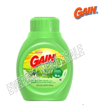 Gain Liquid Detergent 25 Fl Oz * 6 pcs / Case