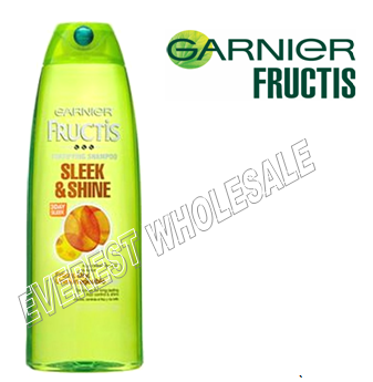Garnier Shampoo 12.5 fl oz * Sleek and Shine * 6 pcs