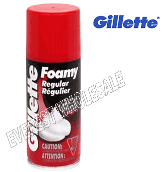 Gillette Shaving Foam Regular 11 oz * 6 pcs