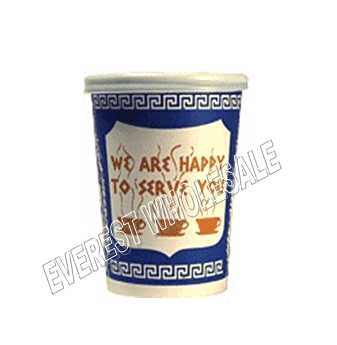 8 Fl Oz Greek Design Paper Coffee Cup * 1000 ct
