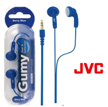 JVC Gumy Earphone * Berry Blue *