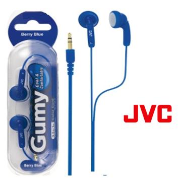 JVC Gumy Earphone * Berry Blue *