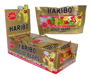 Haribo 2 oz * Gold Bears * 24 pcs / Case