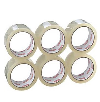 Heavy Duty Clear Pack Tape * 6 pcs