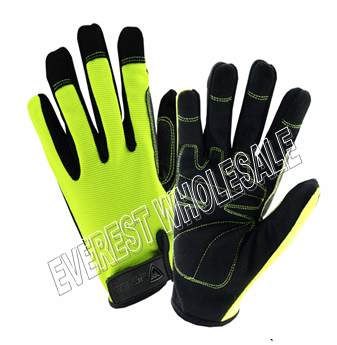 Heavy Duty Grip Working Glove With Belt * 3 pcs