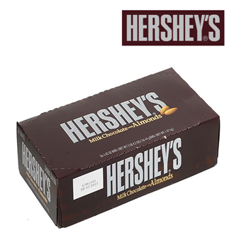 Hershey's Milk Chocolate And Almond 36 ct