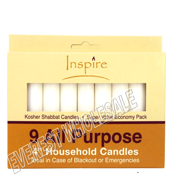 Inspire All Purpose Candle 9 count 4 inch * 12 pcs